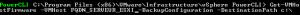 Sauvegarder la configuration de son serveur Esxi 5.x en PowerCLI - Script de sauvegarde