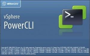 Alerte sur snapshot VmWare en cours - Logo PowerCLI
